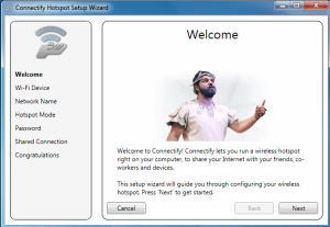 make your laptop a wi-fi hotspot