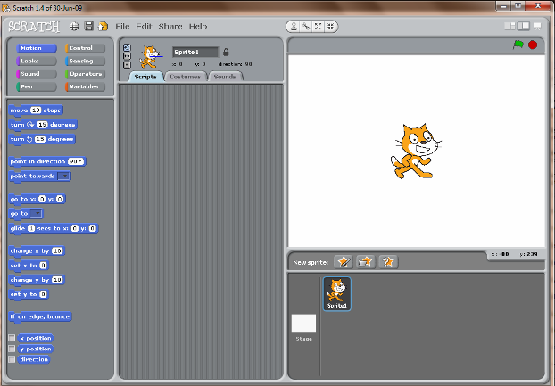 Scratch Interactive Tool To Create Simple Animation Easily